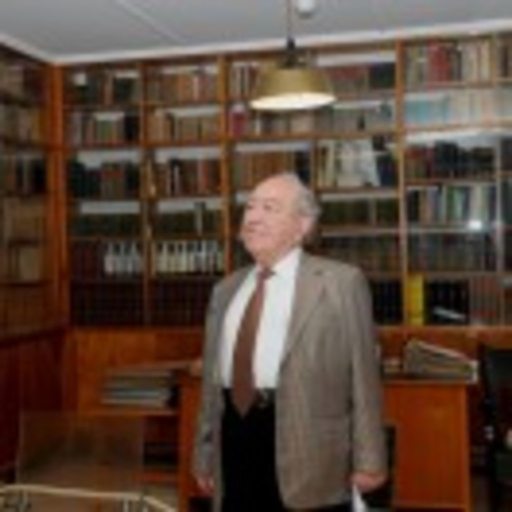 At Ben Gurion library, Sde Boker